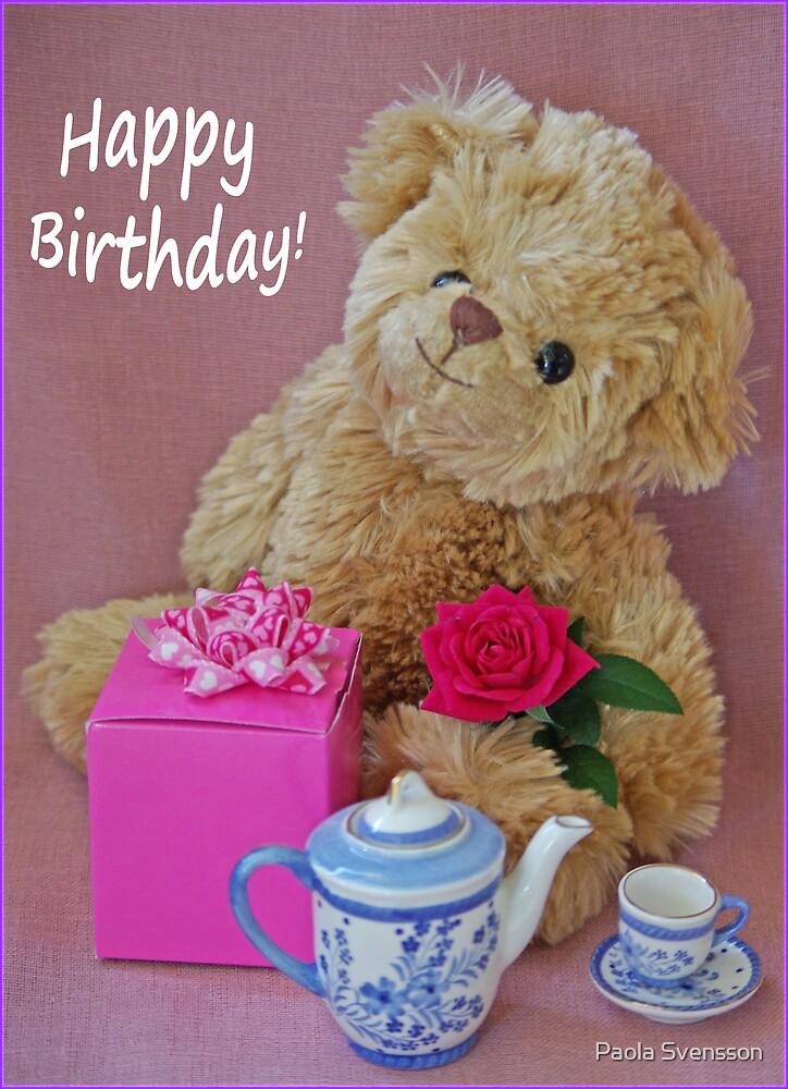 Happy birthday! by Paola Svensson