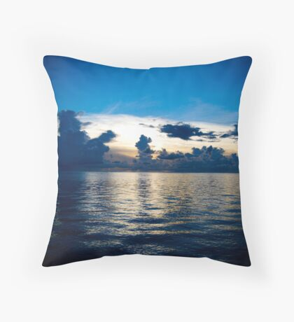 The Blue Philippine Throw Pillow