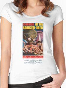 Saucermen Women's Fitted Scoop T-Shirt