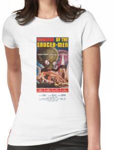 Saucermen Womens Fitted T-Shirt
