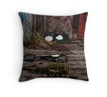 Industrial Silence #5 Throw Pillow