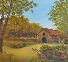 Old Barn by Paul Jenkins