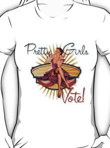 The Kitsch Bitsch: Pretty Girls Vote! T-Shirt