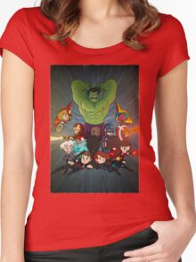 Assemble! Women's Fitted Scoop T-Shirt