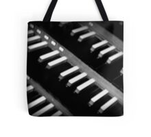 Organ Keys Tote Bag