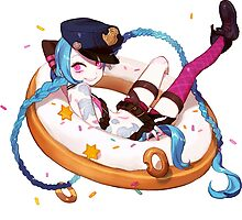 league of legends jinx and donuts by keichi
