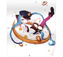 league of legends jinx and donuts Poster
