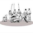roda de Capoeira by dimi