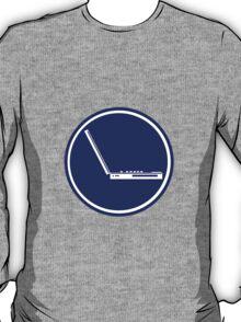 LAPTOP PARKING ROAD SIGN T-Shirt