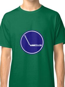 LAPTOP PARKING ROAD SIGN Classic T-Shirt