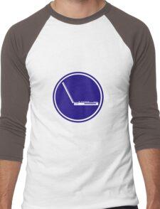 LAPTOP PARKING ROAD SIGN Men's Baseball ¾ T-Shirt