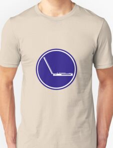 LAPTOP PARKING ROAD SIGN T-Shirt