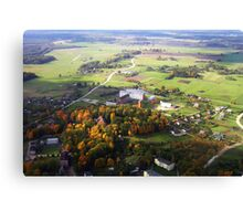 Small township (Baltic states) Canvas Print