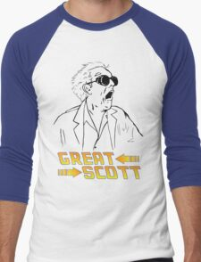 BTTF Great Scott Men's Baseball ¾ T-Shirt