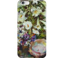 N. Feshin. Lilies and sink. (author's copy) iPhone Case/Skin