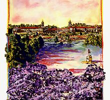 Jacaranda City by Sue Etberg
