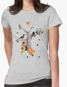 Friends of the forest Womens Fitted T-Shirt