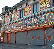 Sideshow, Coney Island by gailrush