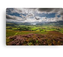 From Skiddaw to Keswick Canvas Print