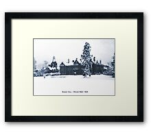 Bushey Hall Framed Print