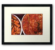 Kimchi - Changwon, South Korea Framed Print
