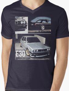 BMW E30 Mens V-Neck T-Shirt