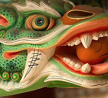 Dragon Head - Haein Temple, South Korea by Alex Zuccarelli