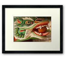 Dragon Head - Haein Temple, South Korea Framed Print
