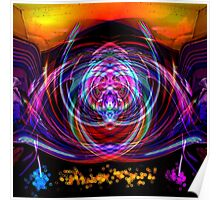 Abstract 52215 Square Poster