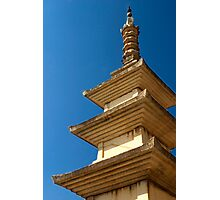 Seokgatap Pagoda - Bulgok Temple, South Korea Photographic Print
