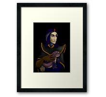 Renaissance wizard Framed Print