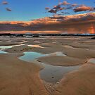 Bar Beach Panorama by Mark Snelson