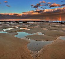 Bar Beach Panorama by Mark Snelson