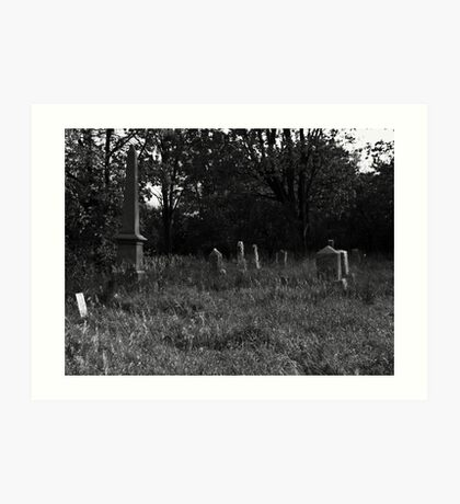 Keck Cemetery Art Print