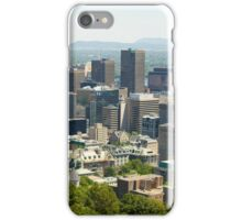 Downtown Montreal, Quebec, Canada iPhone Case/Skin