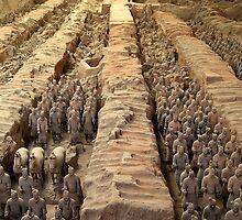 Terracotta Warriors - Shaanxi, China by Alex Zuccarelli