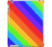 Soft Rainbow Stripes iPad Case/Skin