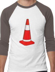 TRAFFIC CONE Men's Baseball ¾ T-Shirt