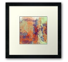 The People in the Abstract Framed Print