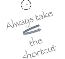 Always take the shortcut by Maree  Clarkson