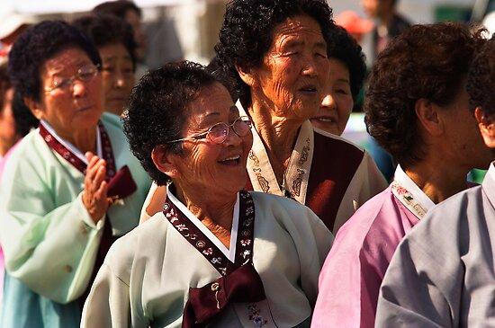 Ajuma - Andong, South Korea by Alex Zuccarelli