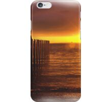 Pier at Sunset  iPhone Case/Skin