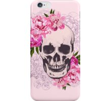 Skull flower iPhone Case/Skin