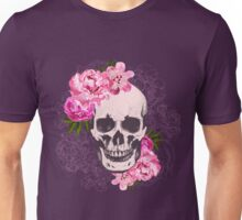 Skull flower Unisex T-Shirt