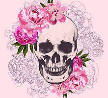 Skull flower by MrNicekat