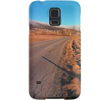 Winter road into the mountains | landscape photography Samsung Galaxy Case/Skin
