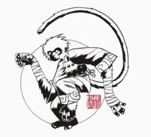 Monkey king kung fu logo One Piece - Long Sleeve