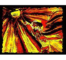 Venus and Blitzball - Magma Style Photographic Print