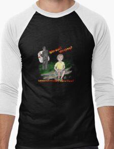 Why won't you share? Men's Baseball ¾ T-Shirt