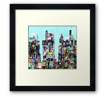 Times Square 1 Framed Print